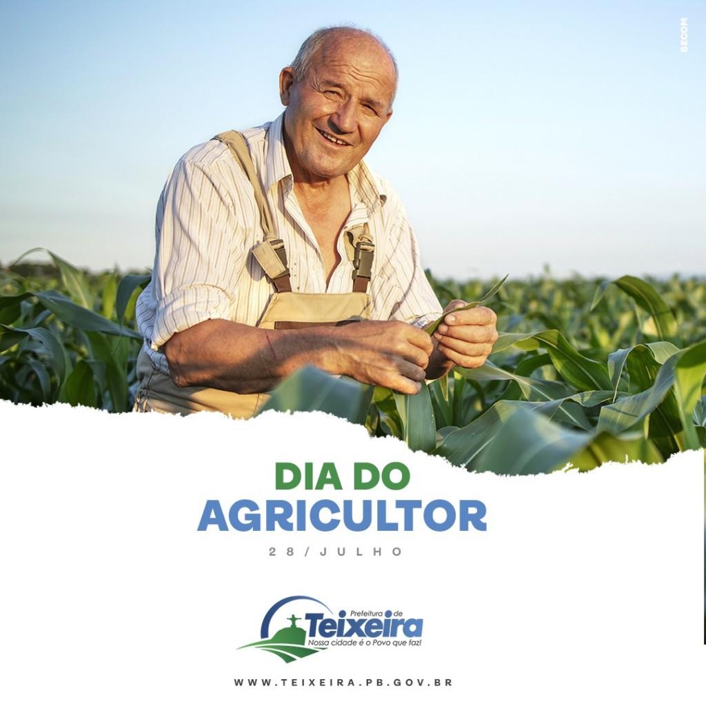 DIA 28 DE JULHO - DIA DO AGRICULTOR